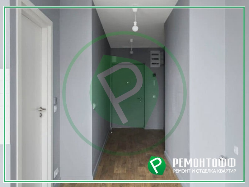 Ремонт квартиры-студии под ключ 33м2